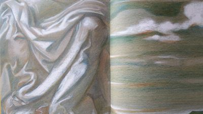 drawing-is-thinking-drapery-and-clouds